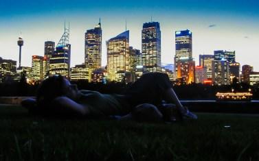 Momente de neuitat, seara în Sydney