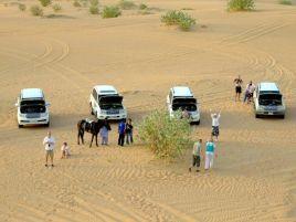 Popas în mijlocul deșertului