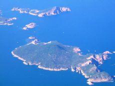 Insule văzute din avion