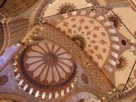 Tavanul Moscheii Albastre