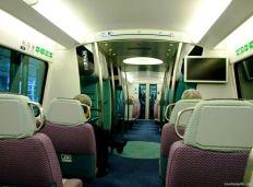 Trenul spre aeroport