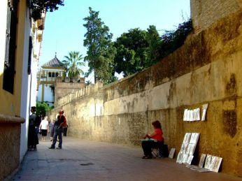 Pe străzi în Sevilla