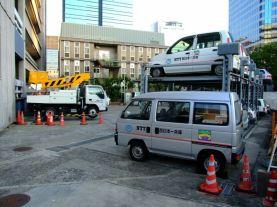 Parcări supraetajate în Kobe