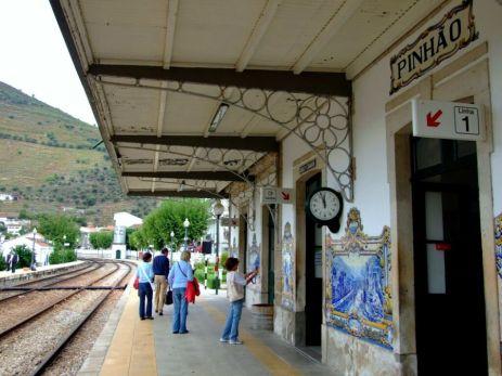 Pinhão, mica gară de provincie