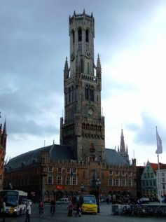 Belfry of Bruges, Brugge, Belgia