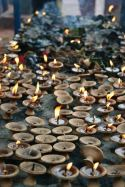 Lumânări la Manakamana