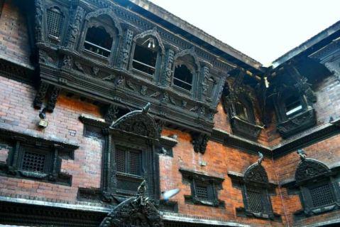 Balconul unde apare Kumari