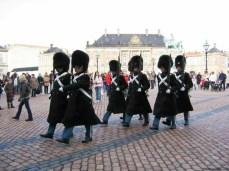Schimbarea gărzii la Amalienborg