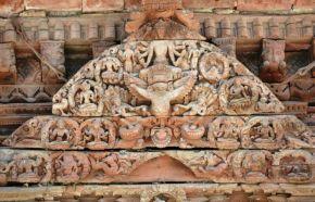 Sculpturile din lemn în Durbar Square, Kathmandu