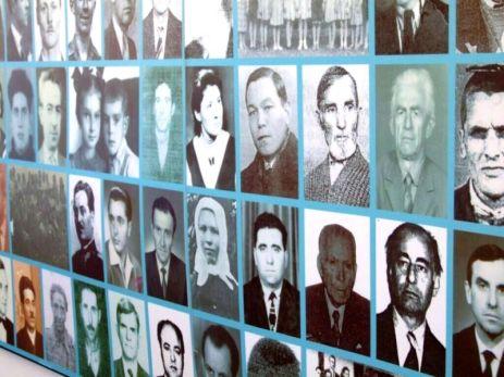 Fotografii ale foştilor deţinuţi