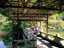 Podul în zigzag la Palatul Imperial Sento