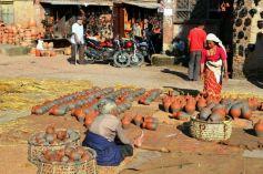 Olărit în Bhaktapur