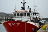 Vase de pescuit în portul din Howth