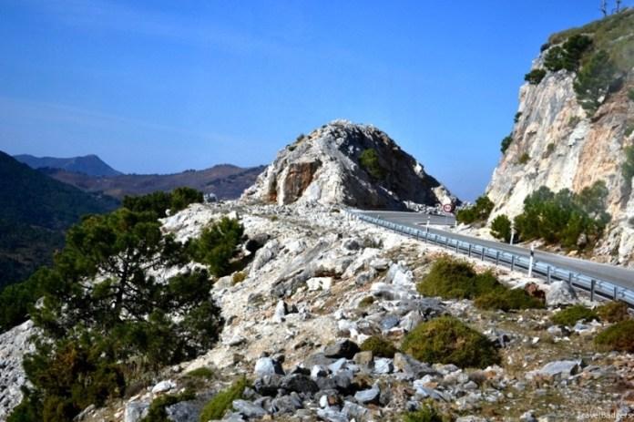 În drum spre Ronda, în Parque Sierra de la Nieves