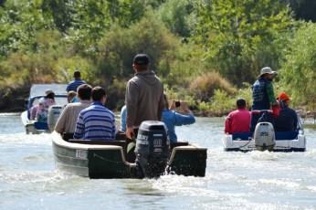 Pe canale la Uzlina