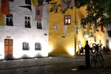 Sighişoara - seara prin cetate