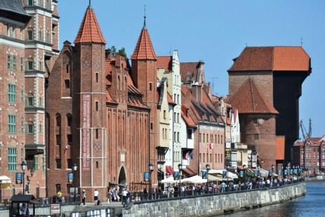 Gdańsk - O promenadă şi o macara veche