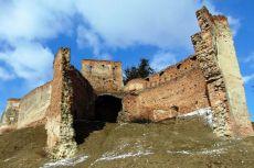 Ruinele cetății din Slimnic