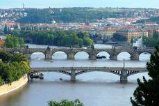 Praga - Vltava şi podurile