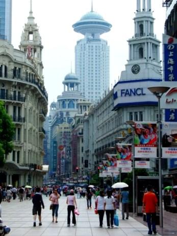 Trafic pe Nanjing Road