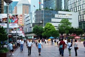 Nanjing Road, cea mai lungă stradă comercială din lume