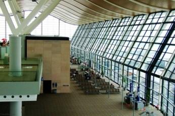 Shanghai Pudong International Airport (IATA: PVG, 上海浦東國際機場; Shànghǎi Pǔdōng Guójì Jīchǎng), un important hub în Asia şi domiciliul companiilor aeriene China Eastern şi Shanghai Airlines. Are în proiect dezvoltarea unui nou terminal care va fi gata în 2015, urmând să mărească traficul de la 60 la 80 de milioane de pasageri.