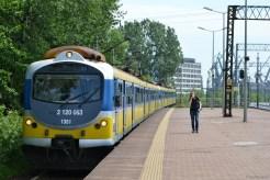 Cu trenul la Sopot