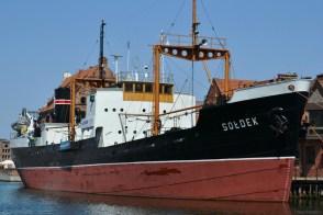 Un vapor al Muzeului Maritim