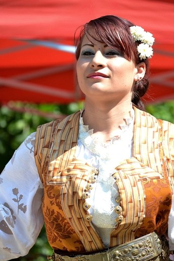Junii Dorobanți - junița vătafului