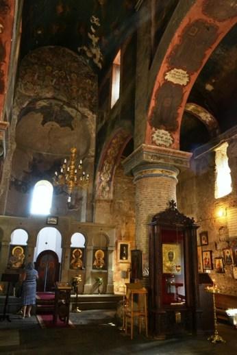 Interior în biserica Sioni