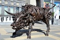 Sculpturi la Moskva Kinoteatr