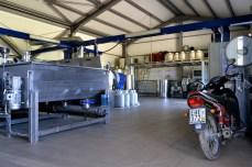 Fabrică de procesare în Pefki, insula Evia
