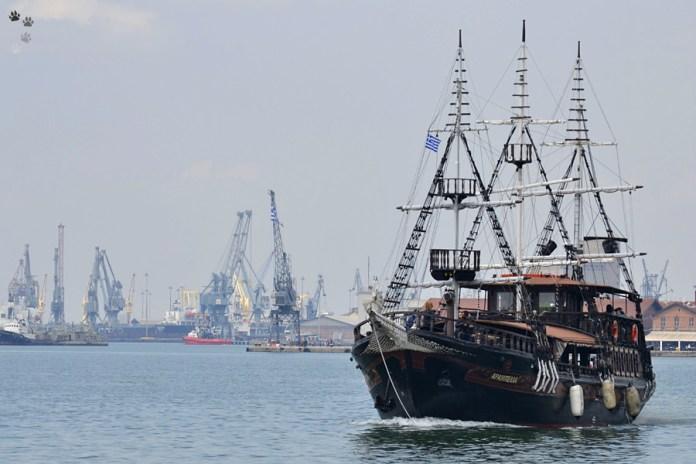 Portul din Salonic