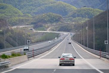 Pe autostradă, către Igoumenitsa