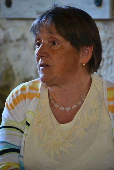 Doamna Rose Müller, epitrop al bisericii evanghelice din Alțâna
