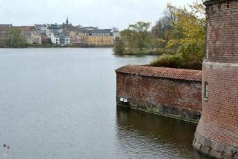 Frederiksborg Slot, vedere către Hillerød
