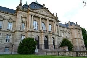 Curtea de apel - stil neobaroc, a fost terminată în 1906