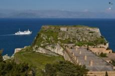 În insulele grecești - Corfu
