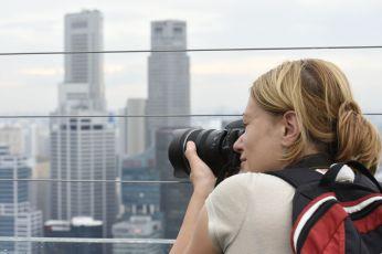 Cu lentilele pe city