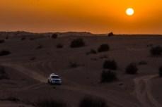 Apusul în deșert