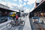 În gară la Helsingør