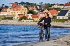 Pe plajă la Hundested