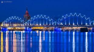 Citylights - Riga, Letonia