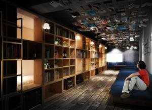 TravelBAG住宿  東京書店膠囊旅店  Book and Bed Tokyo