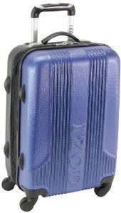 IZOD Luggage Voyager 2.0 20 Inch Expandable Spinner Carry-On
