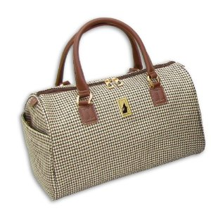 London Fog Carry On Chelsea 16 Inch Satchel Tote
