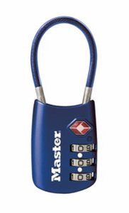 Master Lock 4688D TSA Accepted Cable Luggage Lock