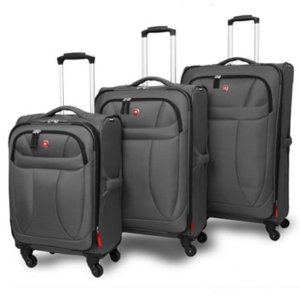 Swiss Gear Spinner Lite 3 Piece Set