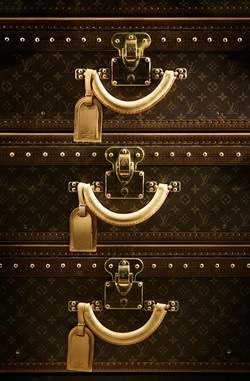 Louis Vuitton luggage suitcase set. Berlin, Germany