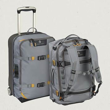 Detachable bag carried as a backpack